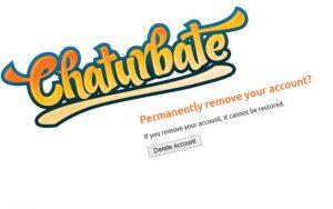 Anleitung: Chaturbate Account löschen
