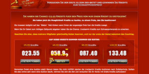 Sexcam Kredits Auktionen bei Live Jasmin