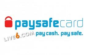 Paysafecard bei Live6. com