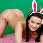 Maria als sexy Bunny